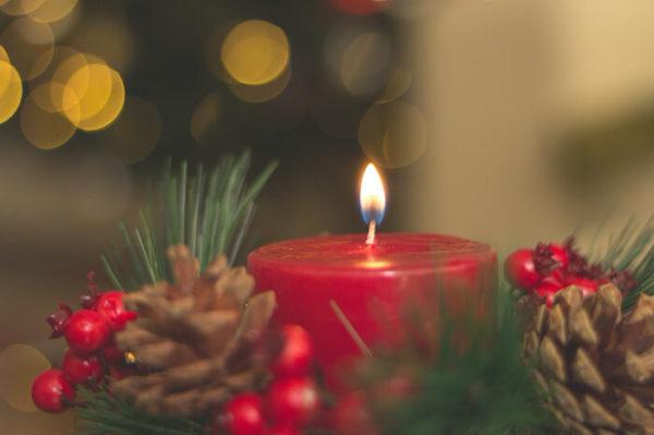 クリスマスのキャンドル