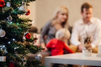 家族で過ごすクリスマス