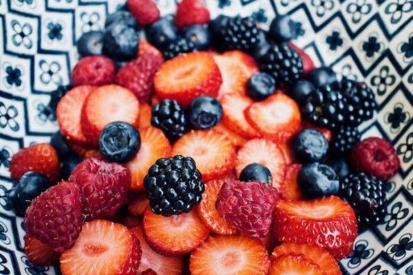 ベリー系果物の写真