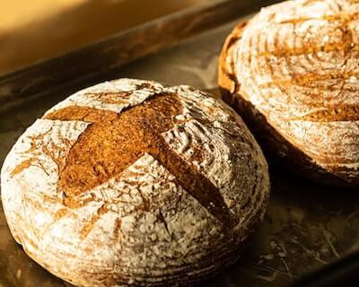 丸いフランスパン