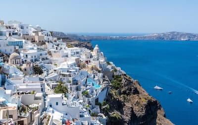 地中海の景色