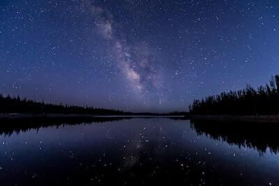 星空の天の川