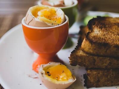 半熟のゆで卵