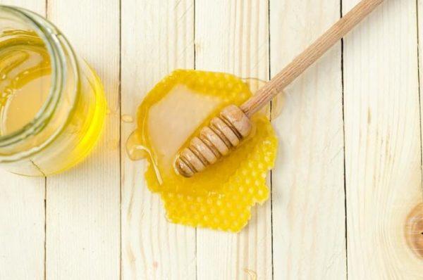 ハニーディップについた蜂蜜