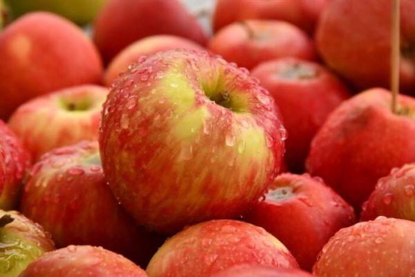 山積みのリンゴ
