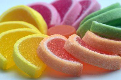 カラフルな砂糖菓子