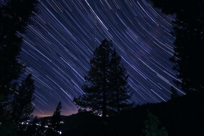 天空の星座の動き