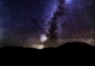 星が散りばめられた空
