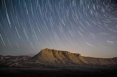 天体の星の動き