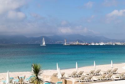 砂浜のリゾート