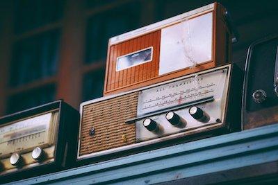 短波のラジオ