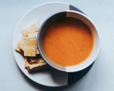 人参のスープ