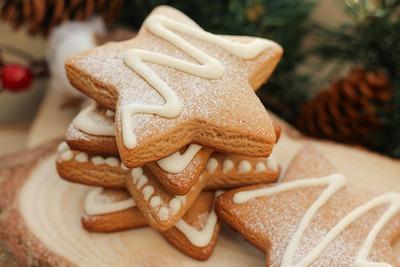 生姜入りクッキー