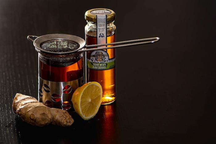 生姜と蜂蜜と紅茶