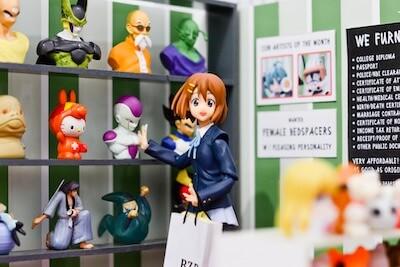 アニメのフィギュア