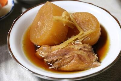 大根とブリの煮物
