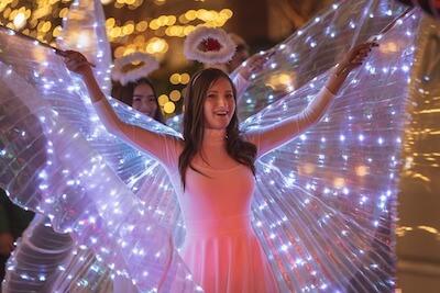 天使が通るイメージ