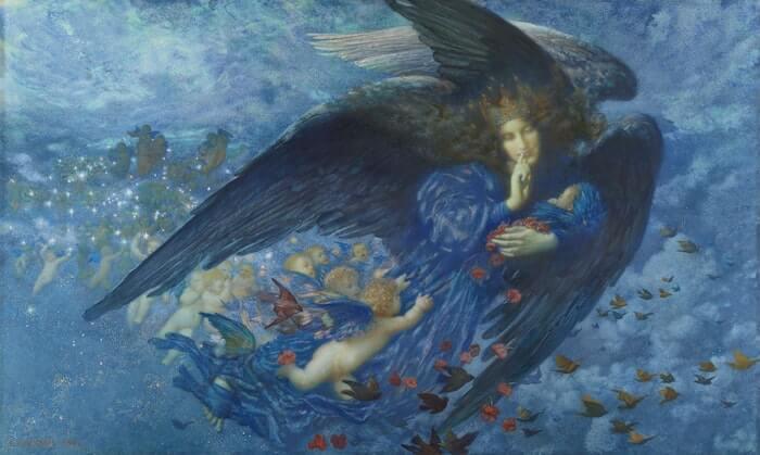 天使の絵画