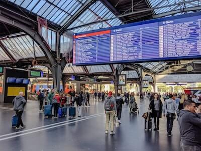 駅の時刻表