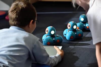 子供と知育玩具