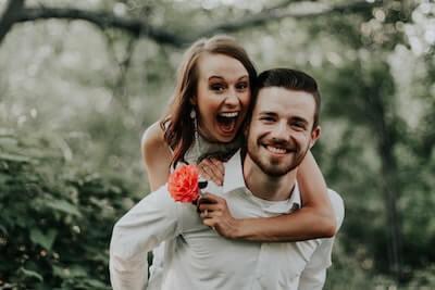 幸せなカップル