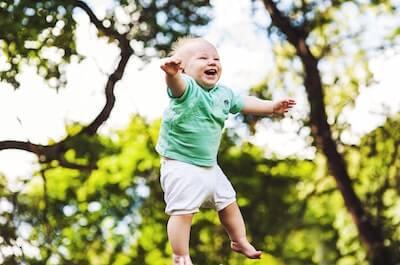 最高の笑顔の子供