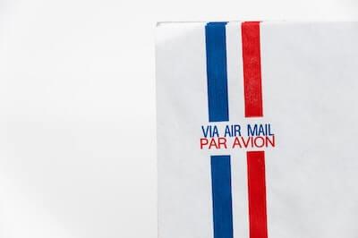フランスの国際郵便
