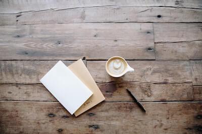 手紙とカフェオレ