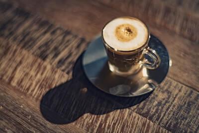 濃いめのカフェラテ