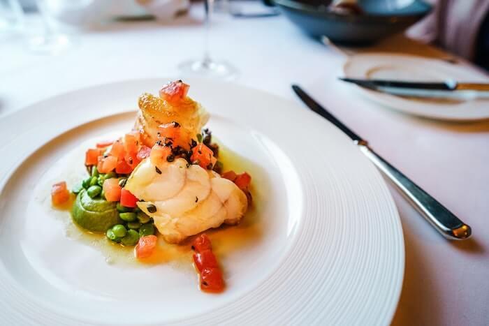 フランスの魚料理