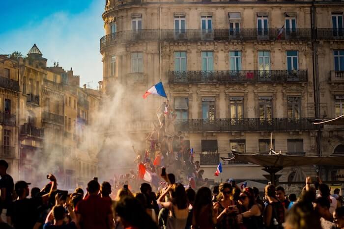 フランスの革命イメージ