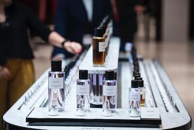 フランスの香水ショップ