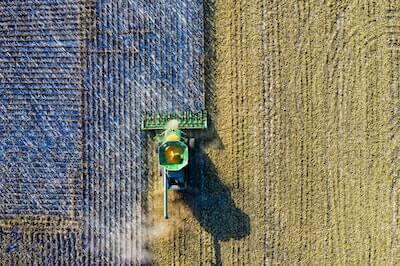 大地の収穫