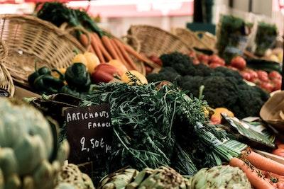 野菜の市場
